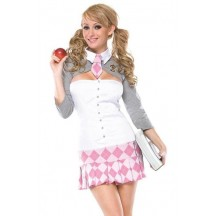Halloween Sexy Lingerie Costumes Mascot Adult Fancy Dress Party Supply Carnival Revealing Studies School Girl Costume
