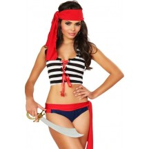 Halloween Sexy Lingerie Costumes Mascot Adult Fancy Dress Party Supply Carnival Bedroom Pirate Costume