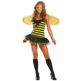 Halloween Sexy Lingerie Costumes Mascot Adult Fancy Dress Party Supply Carnival Busy Bee Costume