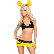 Halloween Sexy Lingerie Costumes Mascot Adult Fancy Dress Party Supply Carnival Sexy Stinger Bee Costume