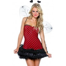Halloween Sexy Lingerie Costumes Mascot Adult Fancy Dress Party Supply Carnival Buggin Out Reversible Costume