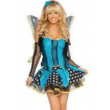 Halloween Sexy Lingerie Costumes Mascot Adult Fancy Dress Party Supply Carnival Blue Garden Butterfly Costume