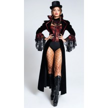 Halloween Sexy Lingerie Costumes Wholesale Lusty Lace Vampire Costume