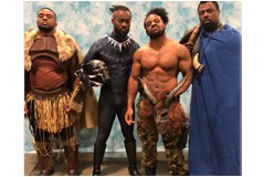 New Day Wrestlers Go All Out With Their 'Black Panther' Cosplay