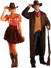 wild west costumes wholesale